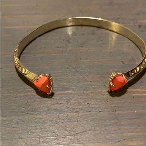 Kendra Scott coral bracelet